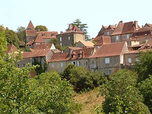 Limeuil on the Dordogne river