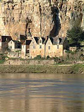 La Roque Gageac, on the Dordoyne river